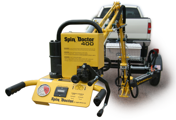 Spin Doctor SD400 Valve and Hydrant Exerciser
