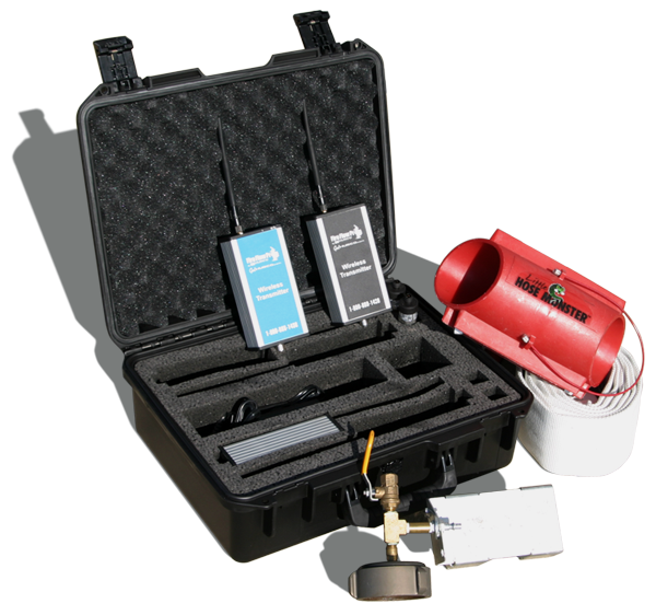 Fire Flow Pro collects pressure data to determine fire flow capabilities, C-factors and flushing
